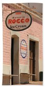 Ice Cream Shop In Todos Santos Bath Towel