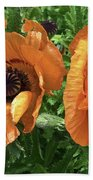 Iceland Poppies Bath Towel