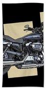 Iconic Harley Davidson Bath Towel