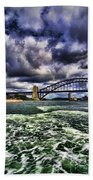 Iconic Landmarks Bath Towel