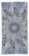 Icy Mandala 2 Bath Towel