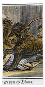 Ignatius Of Antioch (c35-110) Bath Towel