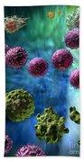 Immune Response Cytotoxic 3 Bath Towel