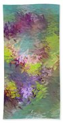 Impressionistic Abstract Bath Towel