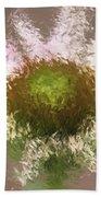Impressionistic Echinacea Bath Towel