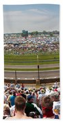 Indy 500  Race Day Bath Towel