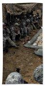 Infantrymen Receive Their Safety Brief Bath Towel