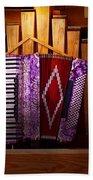 Instrument - Accordian - The Accordian Organ  Bath Towel