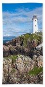 Irish Lighthouse Bath Towel