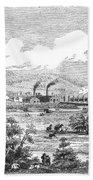 Iron Works, 1855 Bath Towel