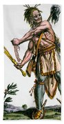 Iroquois Warrior Bath Towel