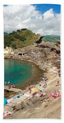 Islet In The Azores Bath Towel