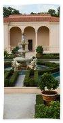 Italian Renaissance Garden Bath Towel