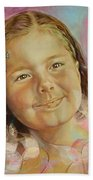 Ivana's Portrait Bath Towel