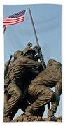 Iwo Jima Memoria 2 Bath Towel
