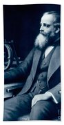 James Clerk Maxwell, Scottish Physicist Bath Towel