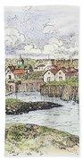 Jamestown Settlement, 1622 Bath Towel