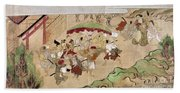 Japan: Peasants, C1575 Hand Towel