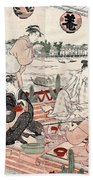 Japan: Restaurant, C1786 Bath Towel
