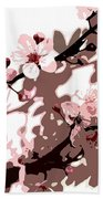 Japanese Blossom  Bath Towel