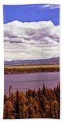 Jenny Lake Panorama Bath Towel