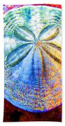 Jeweled Sand Dollar Bath Towel