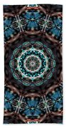 Jeweled Turquoise Bath Towel