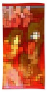 Just Some Colored Squares Bath Towel