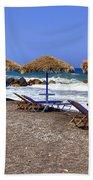 Kamari - Santorini Bath Towel