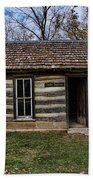 Kansas Log Cabin Bath Towel