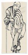 Katsushika Hokusai Bath Towel