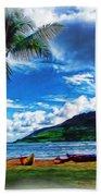 Kauai Beach And Palms Bath Towel