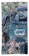 Kent Chevy Truck Bath Towel