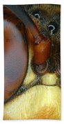 Killer Wasp Bath Towel