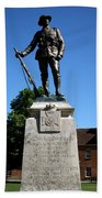 Kings Royal Rifle Corps Memorial In Winchester Bath Towel