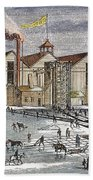 Knickerbocker Ice Co.,  C1846 Bath Towel