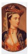 Lady Mary Wortley Montagu Bath Towel