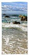 Laguna Beach Coast Bath Towel