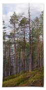 Lake Huosius At Hossa Bath Towel