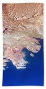Lake Mead Shores Nv Planet Earth Bath Towel