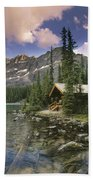 Lake Ohara Lodge Bath Towel