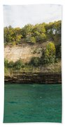 Lake Superior Pictured Rocks 11 Bath Towel