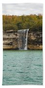 Lake Superior Pictured Rocks 48 Bath Towel