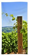 Landscape With Vineyard Hand Towel