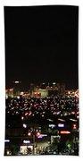 Las Vegas Nevada Nighttime Skyline Bath Towel