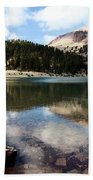 Lassen Mountain Lakes Bath Towel