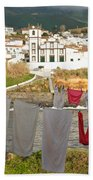 Laundry Day In Azores Bath Towel