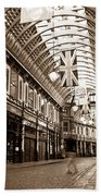 Leadenhall Market London With  Bath Towel