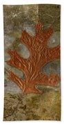 Leaf Life 01 -brown 01b2 Hand Towel