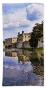 Leeds Castle Kent England Bath Towel